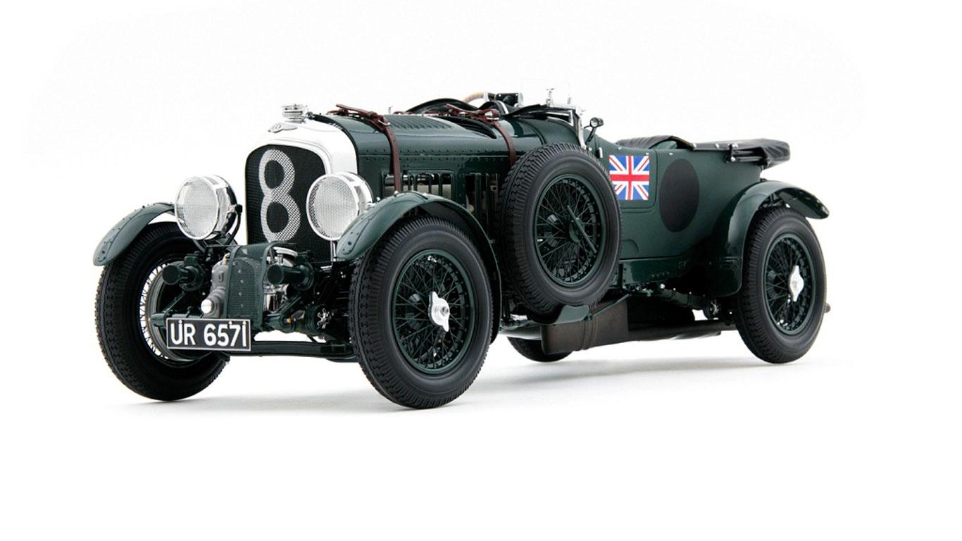 Bentley Blower scale model
