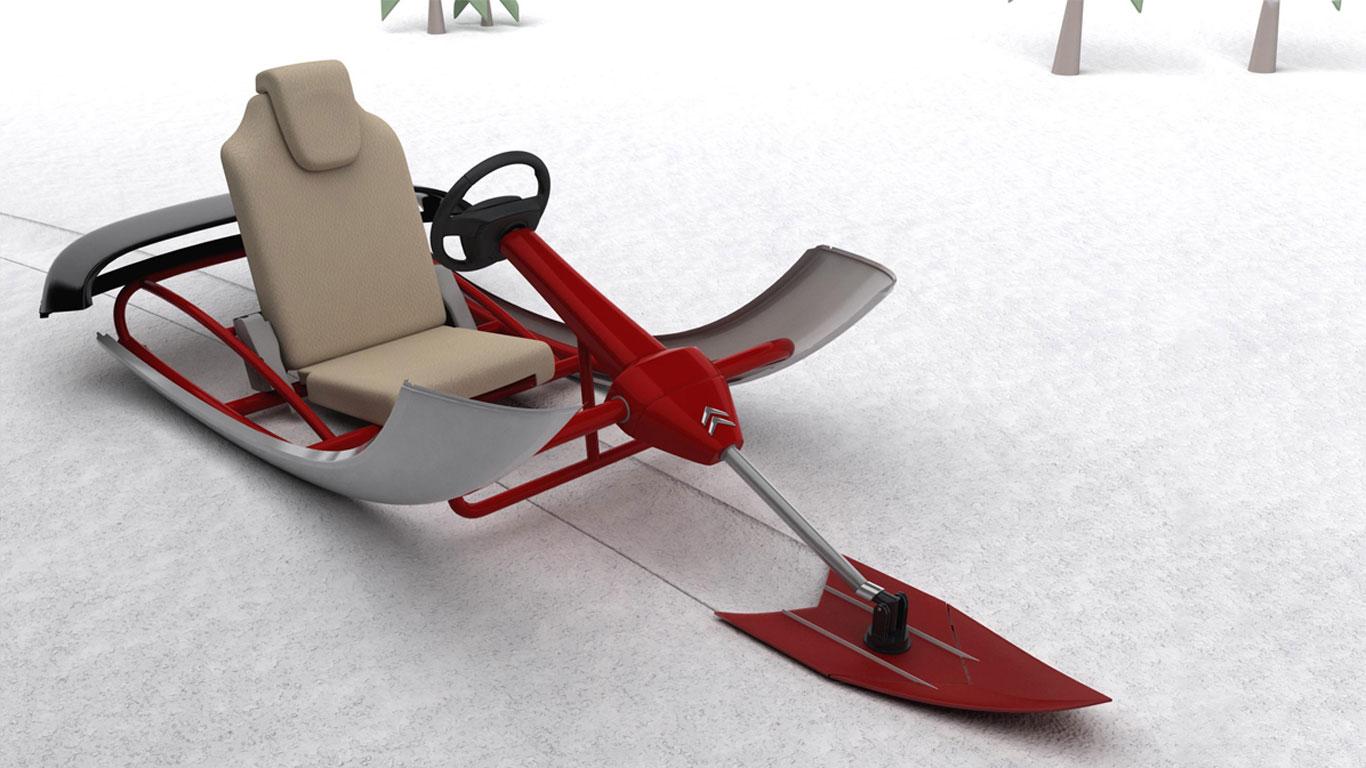 Citroen sledge