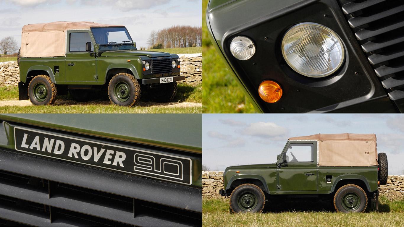 Retro Road Test: Land Rover 90 40th Anniversary