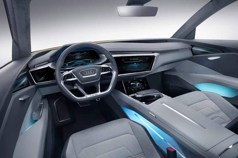 Audi h-tron quattro concept_interior