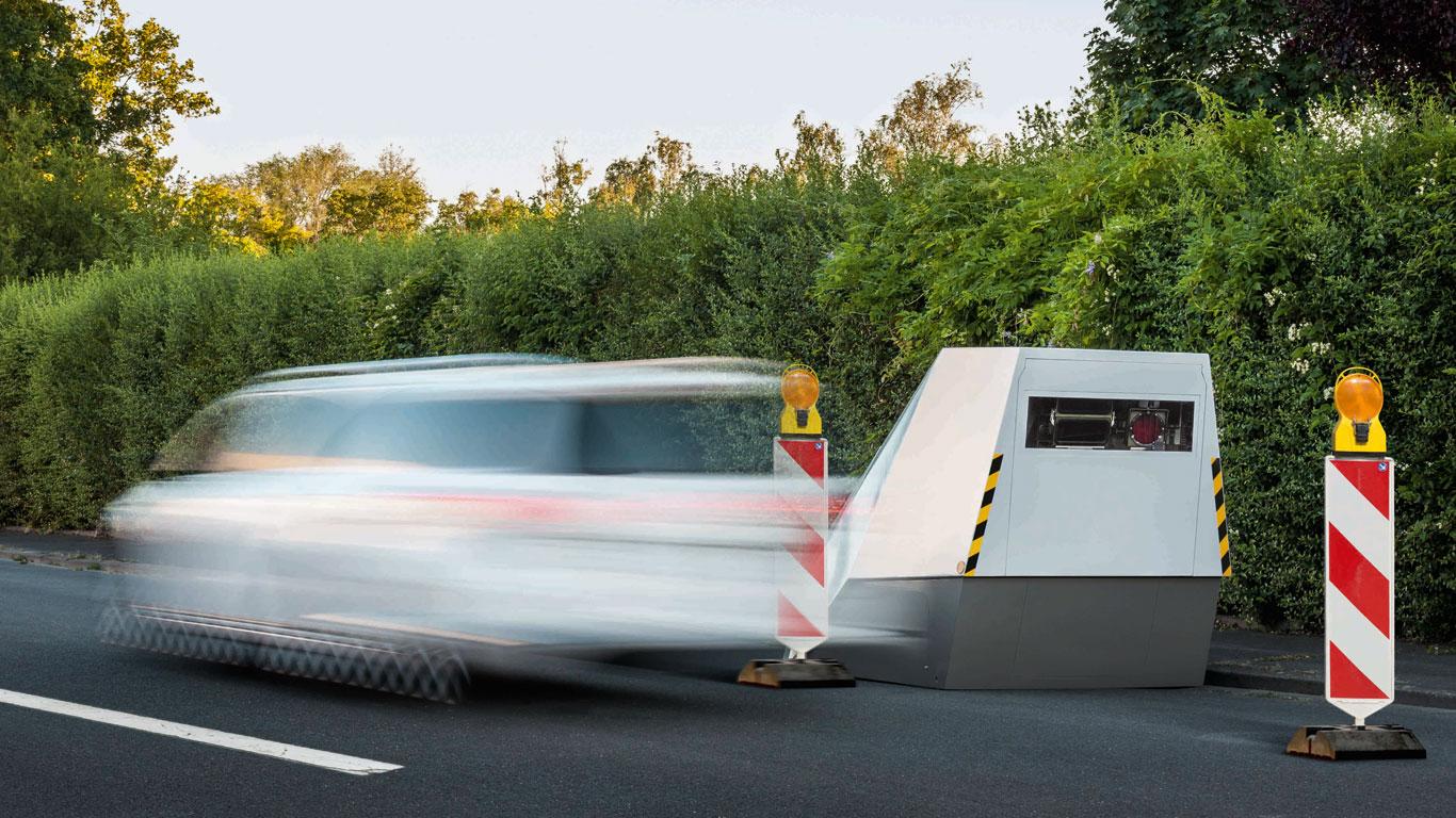Autonomous speed enforcement