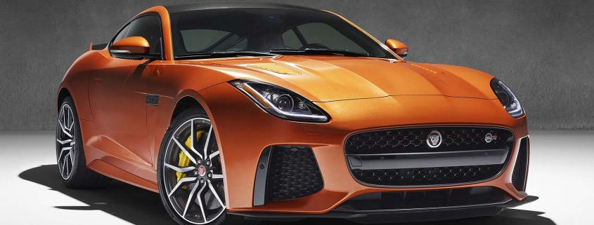 Jaguar F-Type SVR Coupe 2016