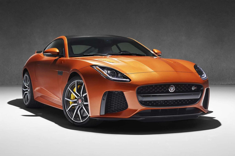 Jaguar F-Type SVR Coupe 2016