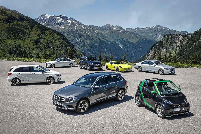 Daimler EV range