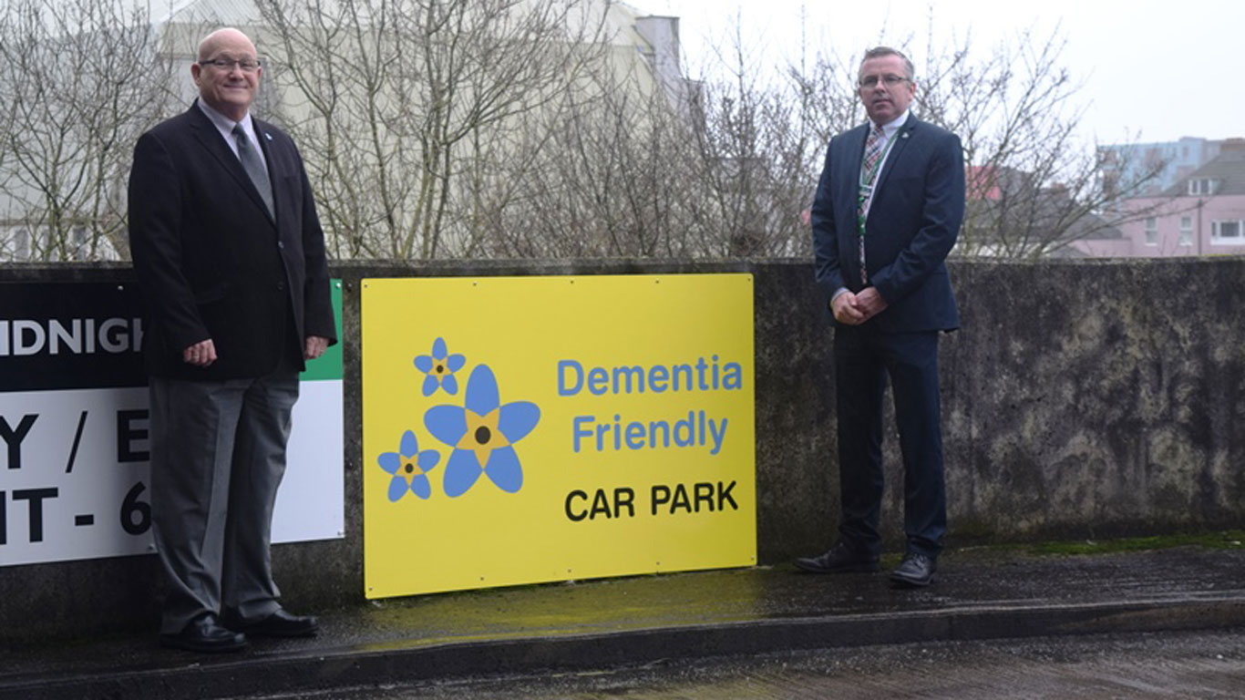 Dementia Friendly car park