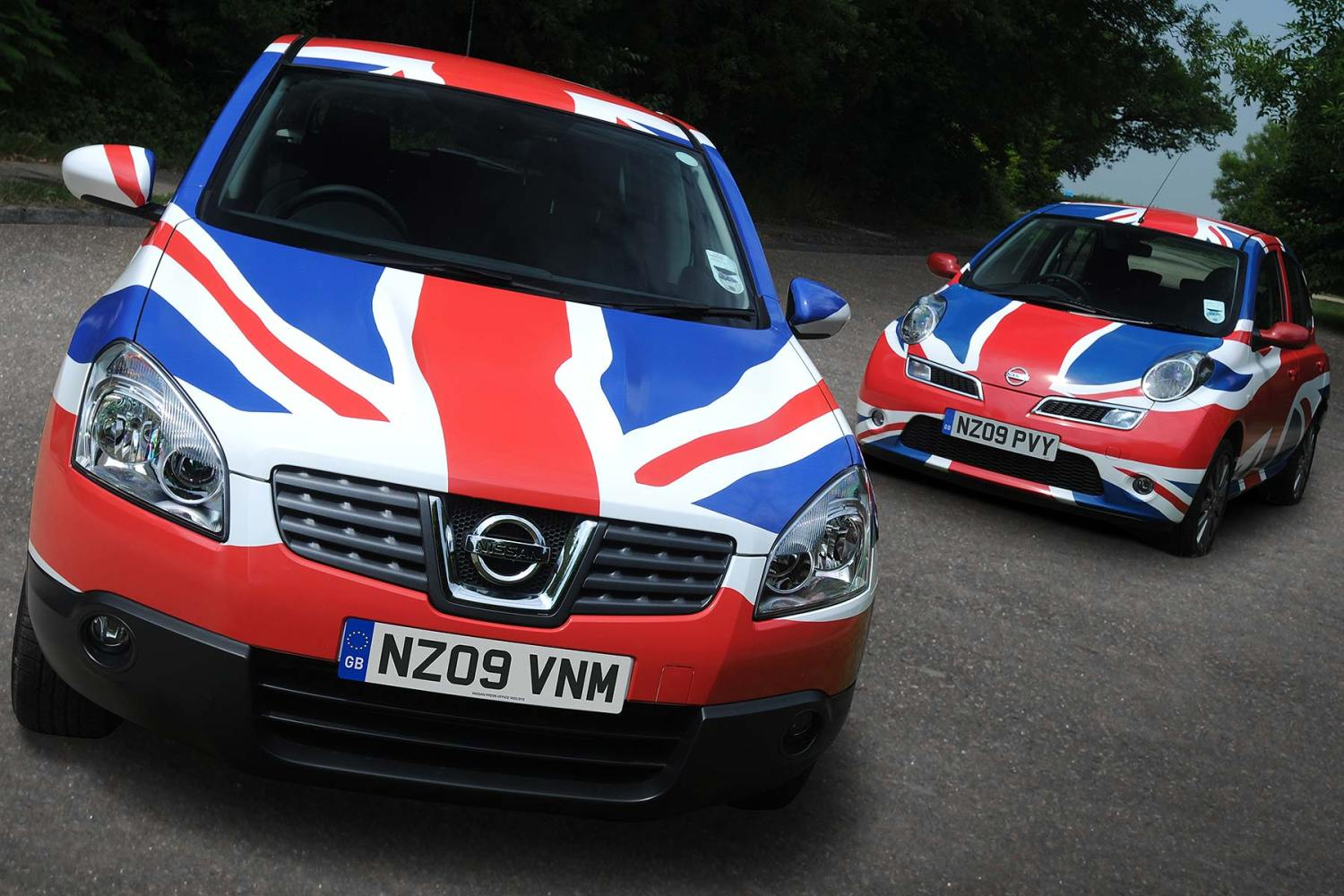 Nissan Union Flag