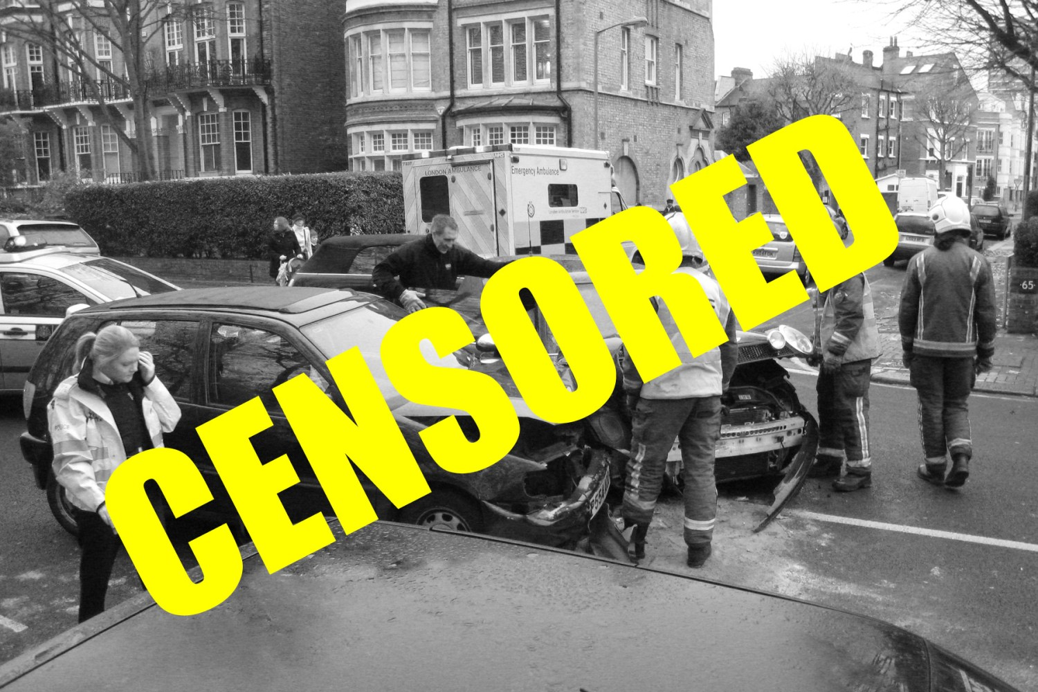 Blog: I don't want to see pictures of car crashes on Twitter