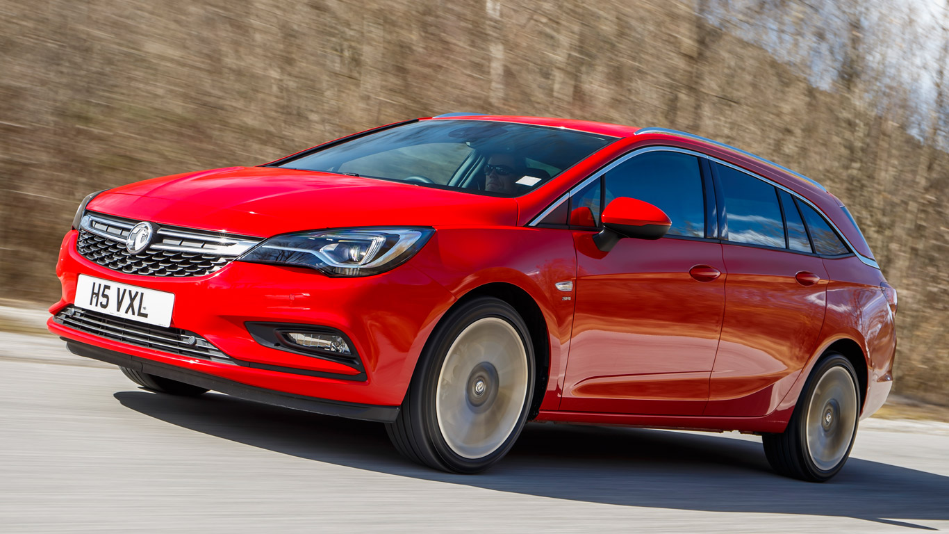 Vauxhall Astra Sports Tourer 1.6T 200hp: Two-Minute Road Test