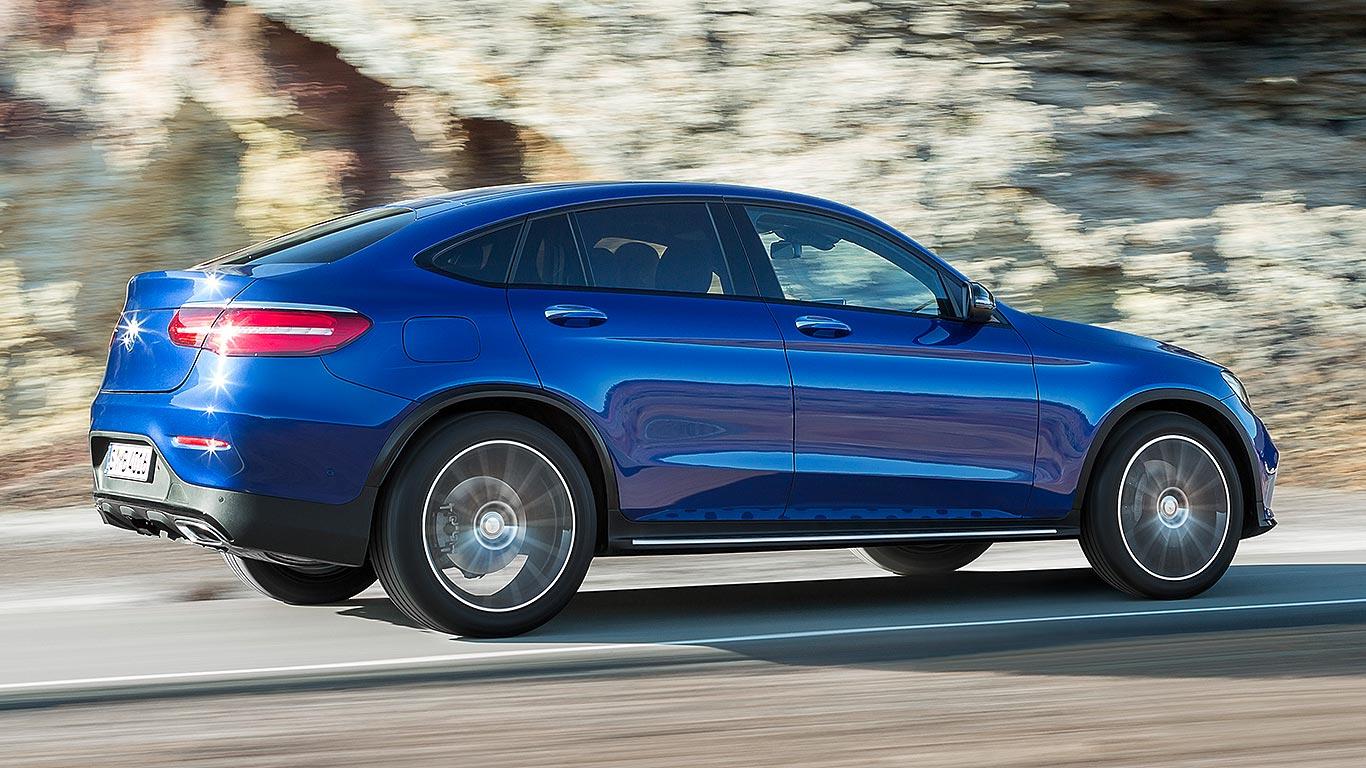 Mercedes-Benz GLC Coupe 2016