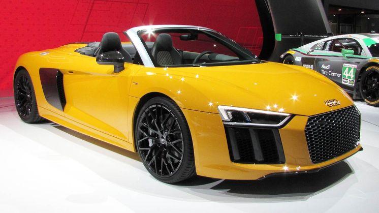 2016 Audi R8 Spyder