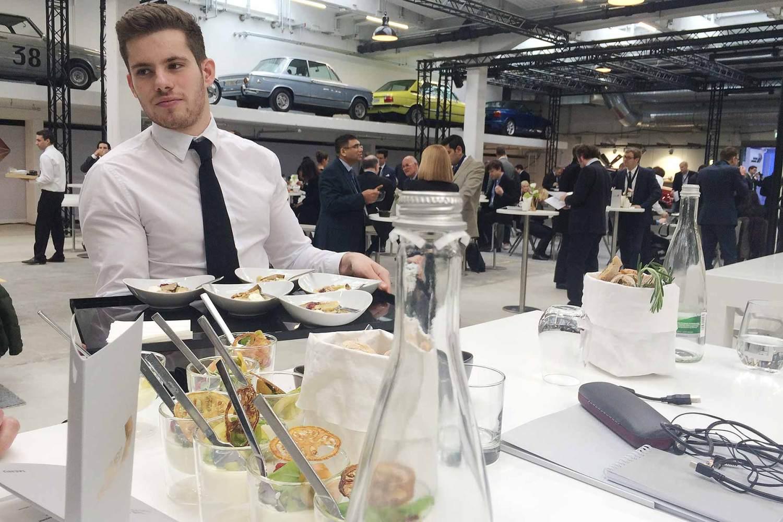 BMW Next 100 lunch