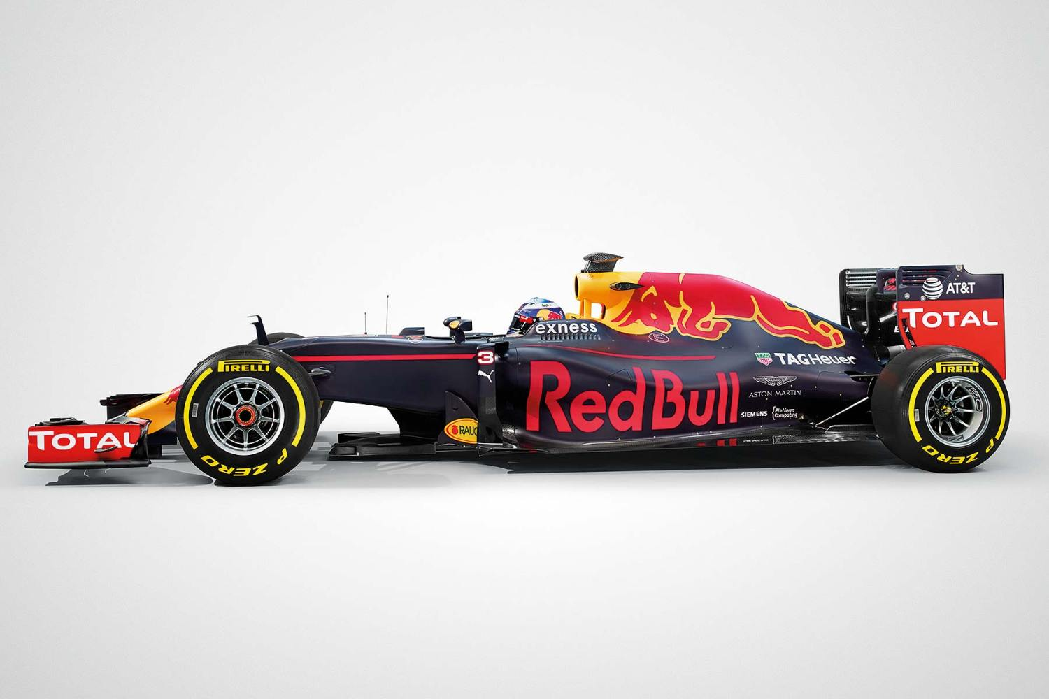 Red Bull Racing RB12 Ricciardo