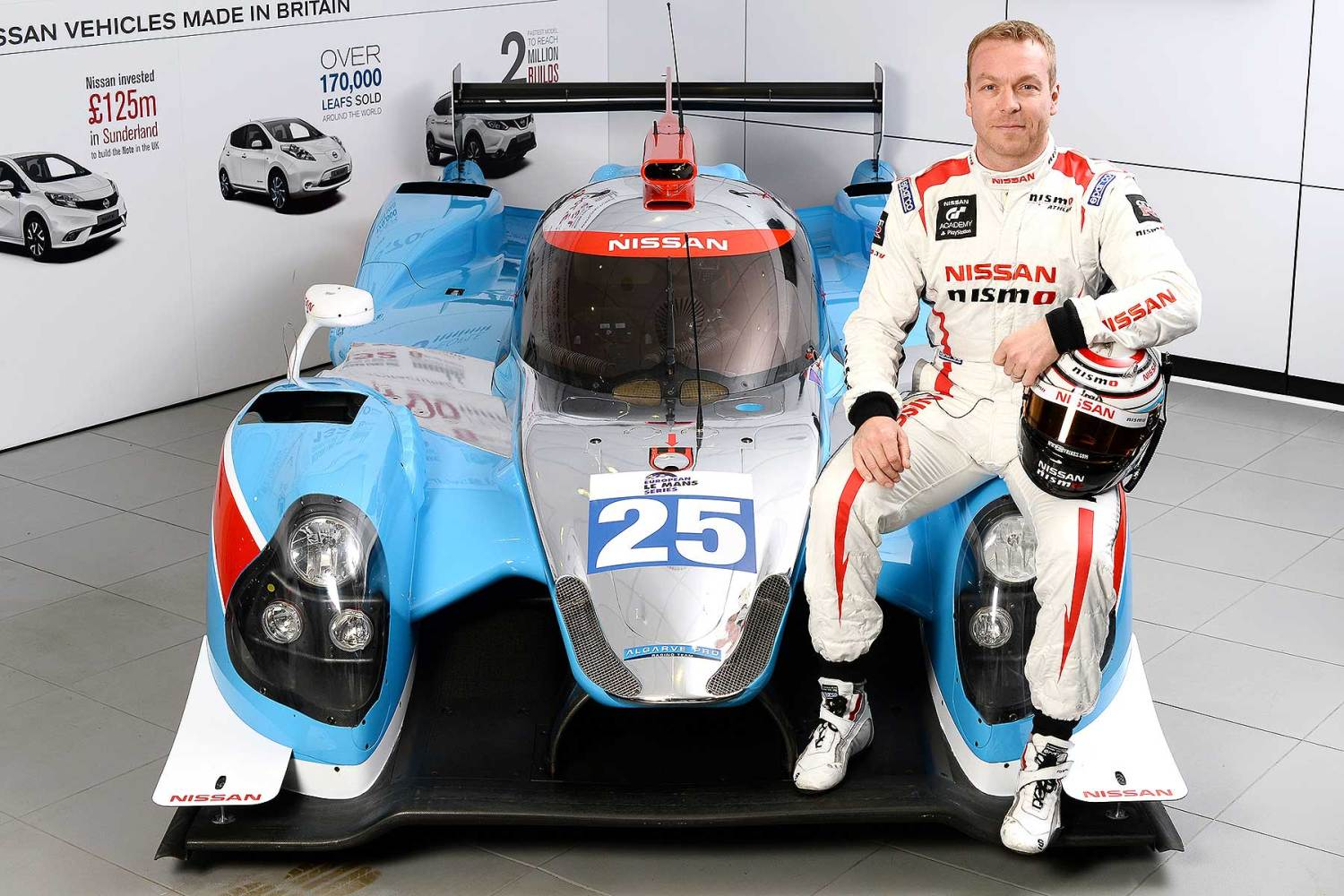 Sir Chris Hoy Le Mans