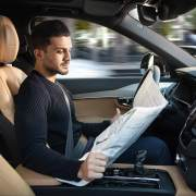 Volvo autonomous driver