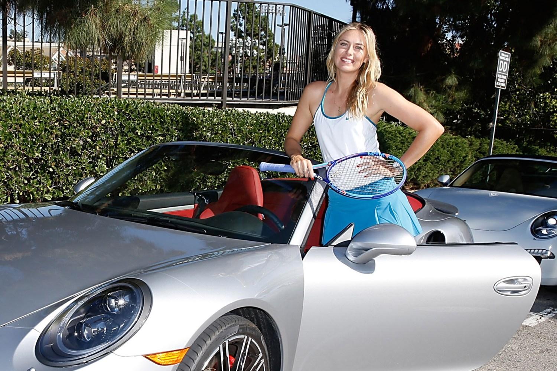 Porsche suspends brand ambassador Maria Sharapova