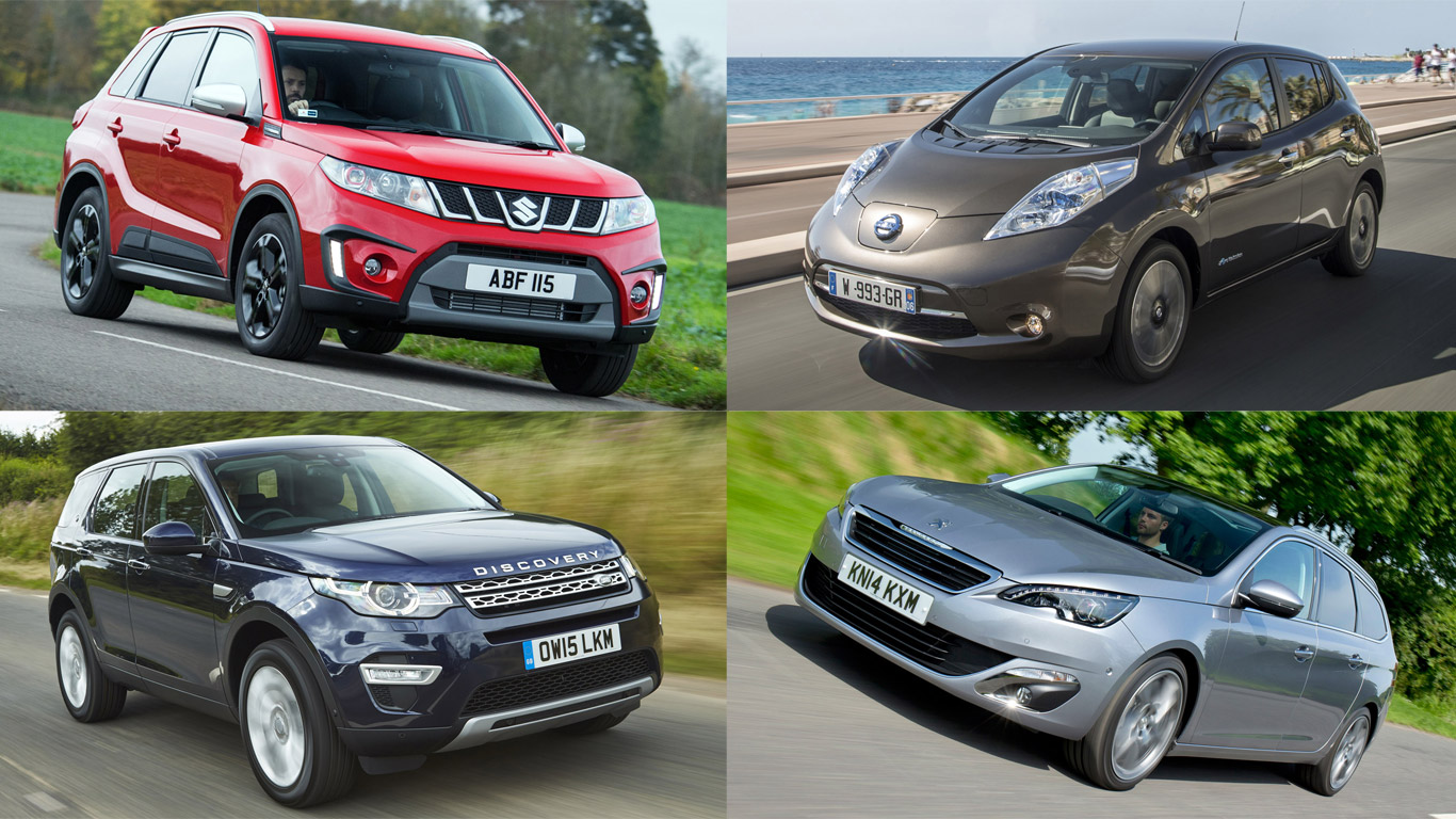 Best new cars for £10 a day