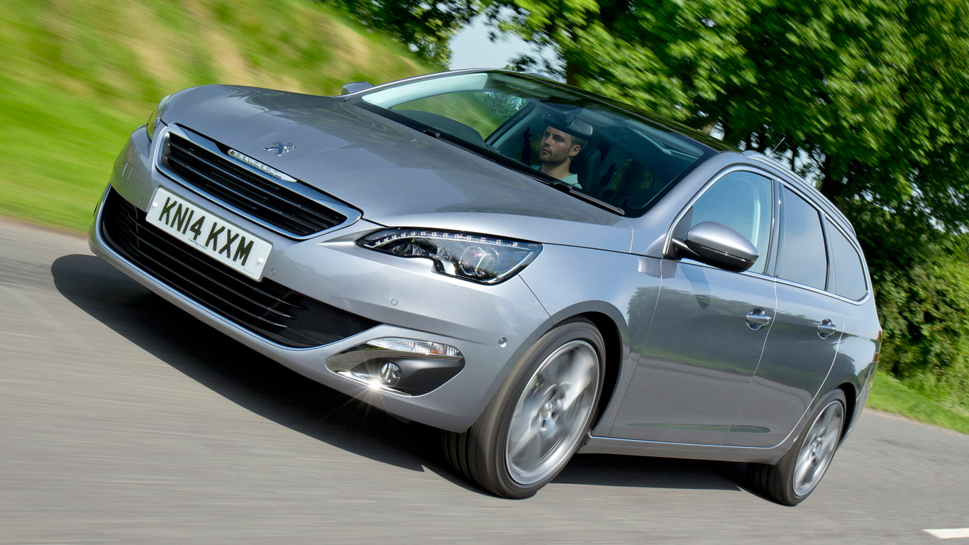 Peugeot 308 SW: £8.32 a day