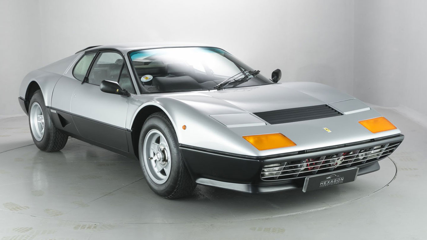1977 Ferrari 512 BB: 391% growth