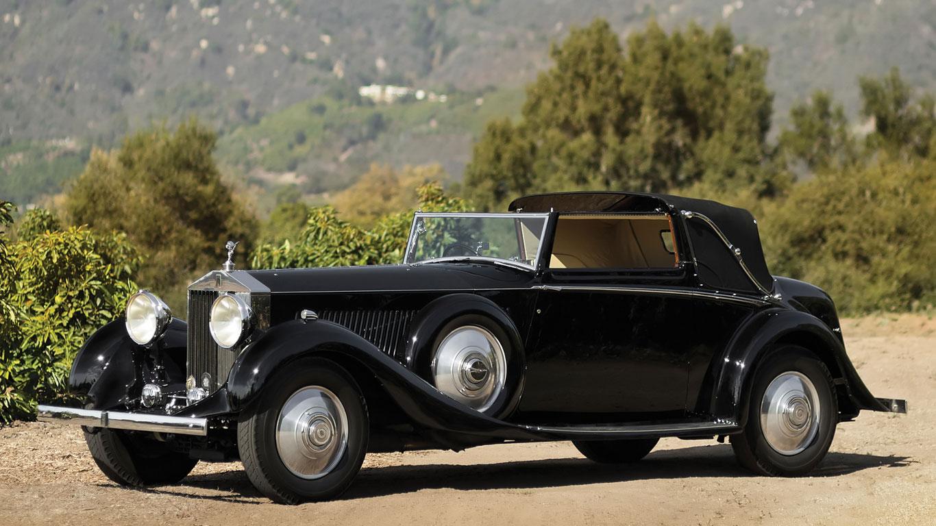 1934 Rolls-Royce Phantom II Continental Drophead Sedanca Coupe: 498% growth