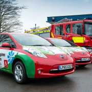 Nissan EV London Fire Brigade