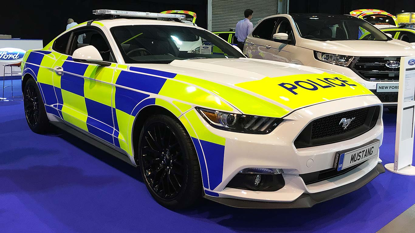 Ford Mustang Police car