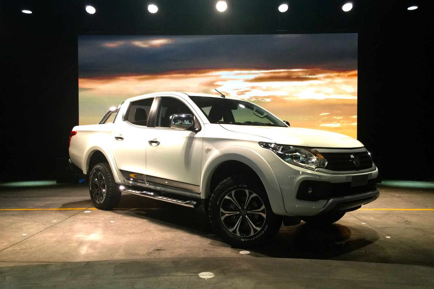 Fiat Fullback launch