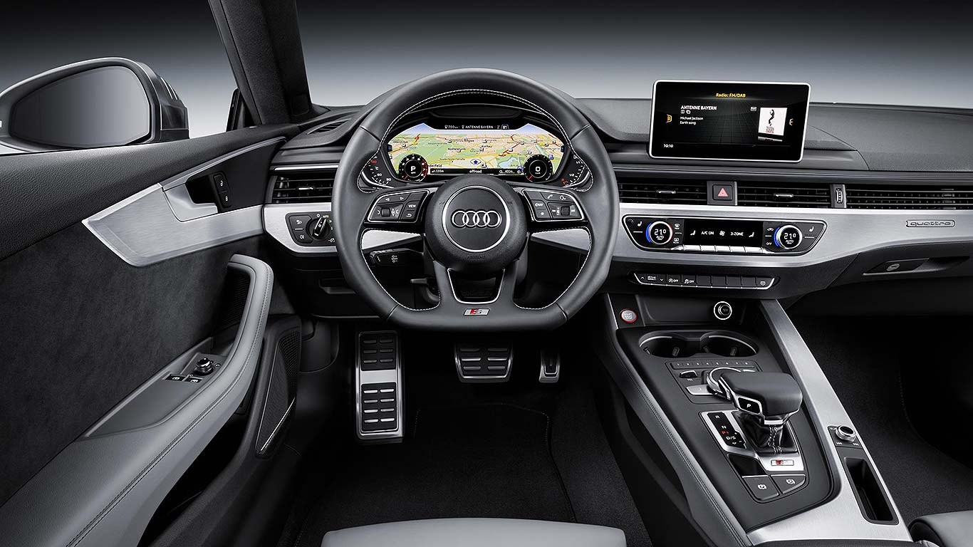 All-new 2016 Audi A5 Coupe