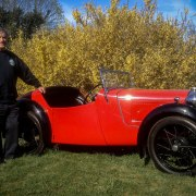 Bertie is going to his 50th Austin 7 rally