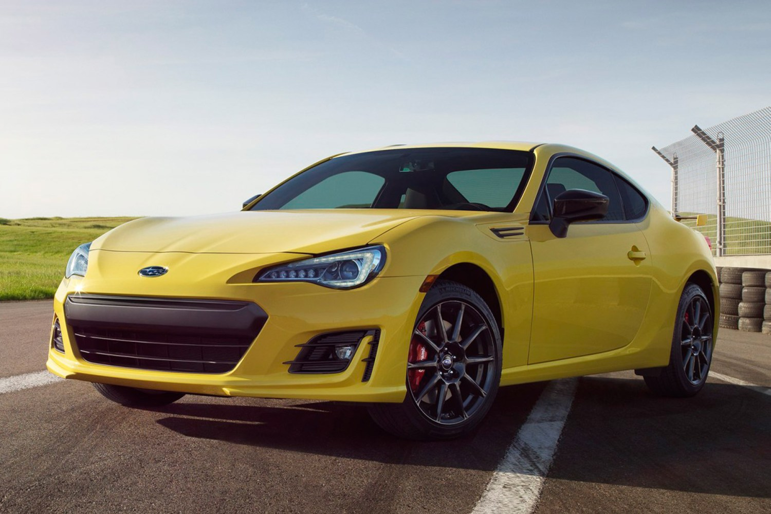 Subaru announces awesome yellow limited edition BRZ