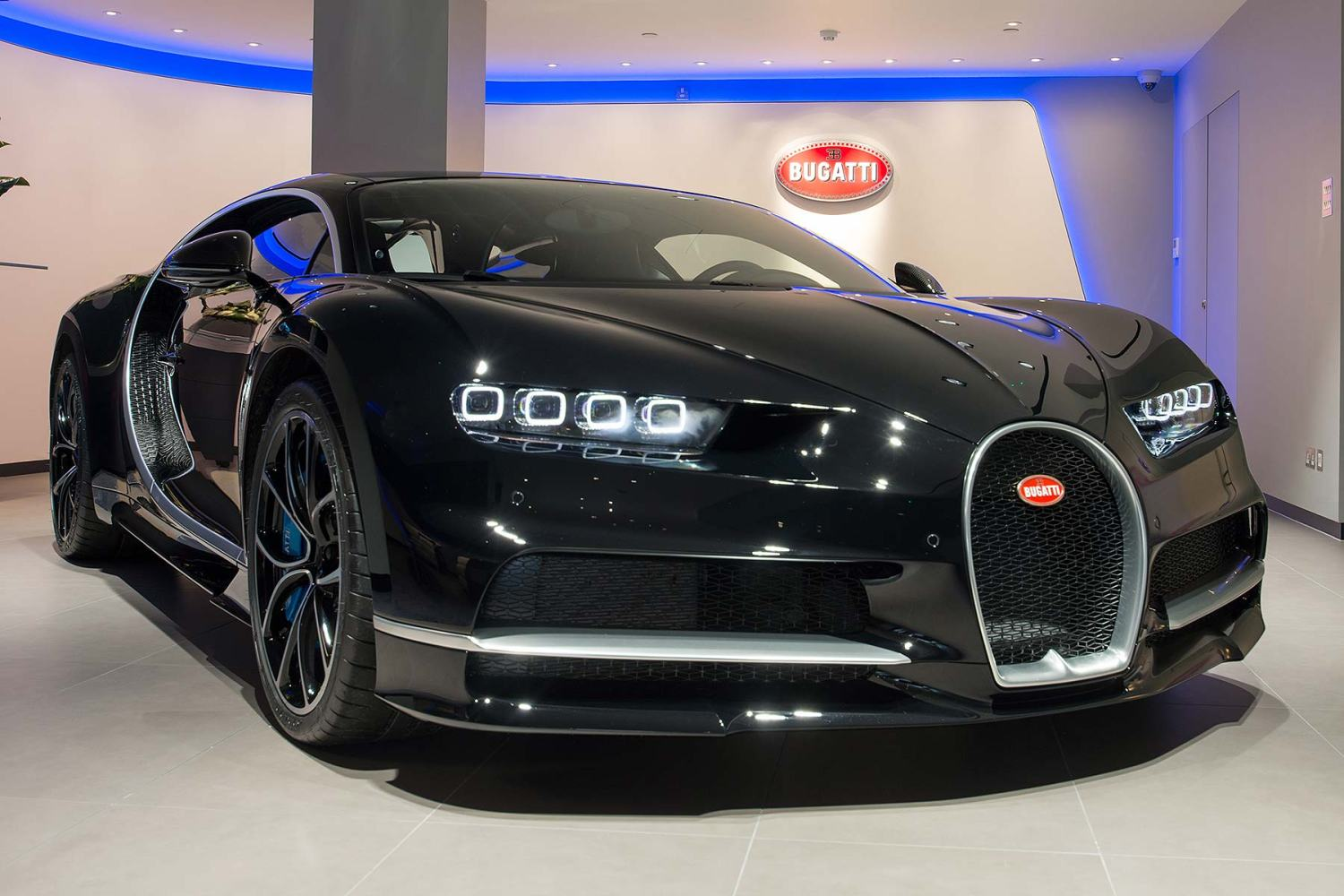 Bugatti London car dealer opens in Mayfair