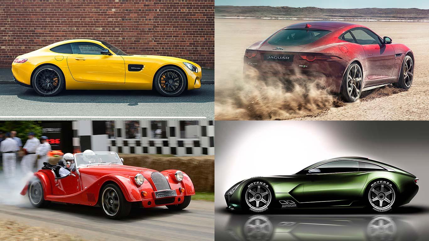Shelby Cobra Daytona Coupe rivals