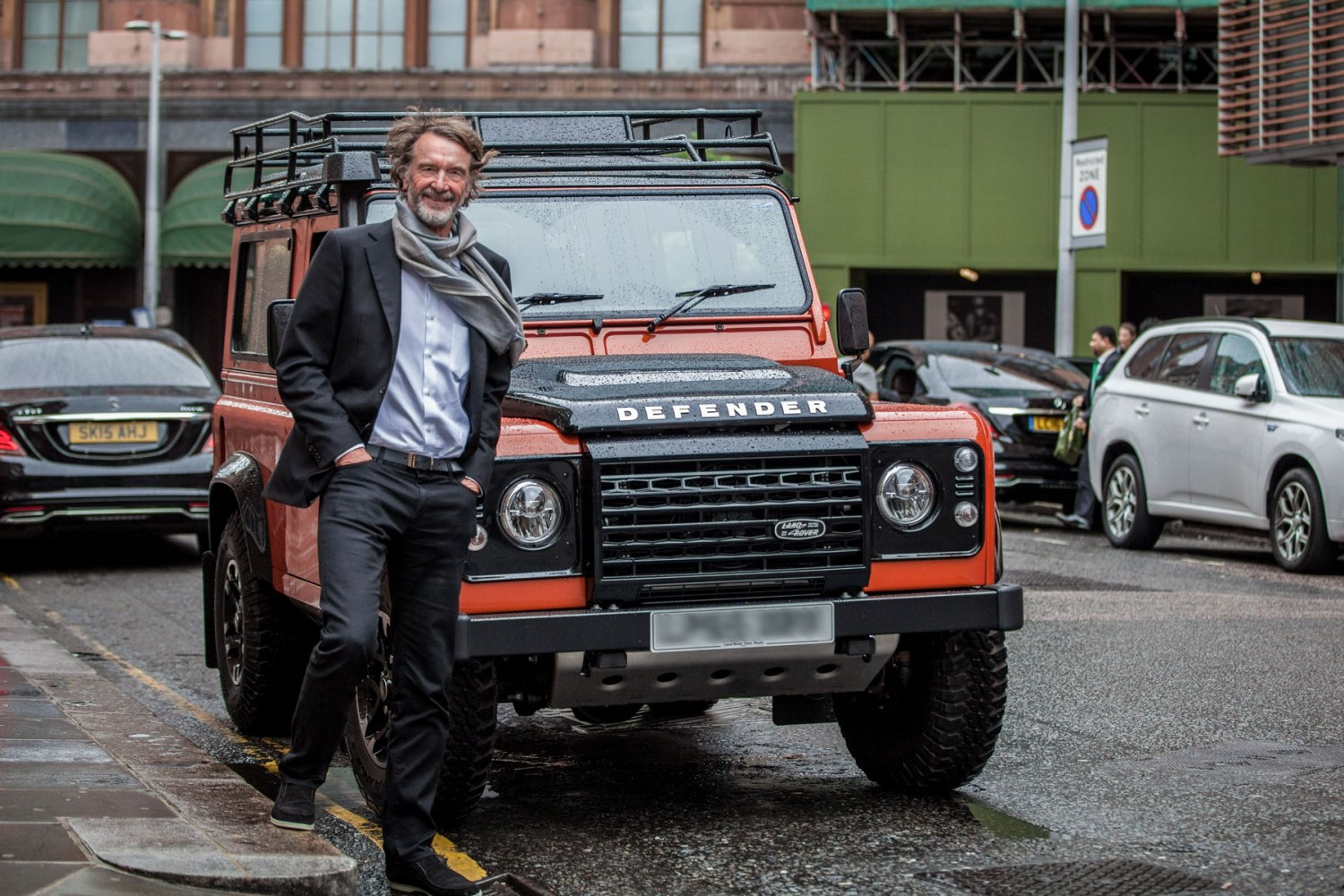INEOS Land Rover Defender