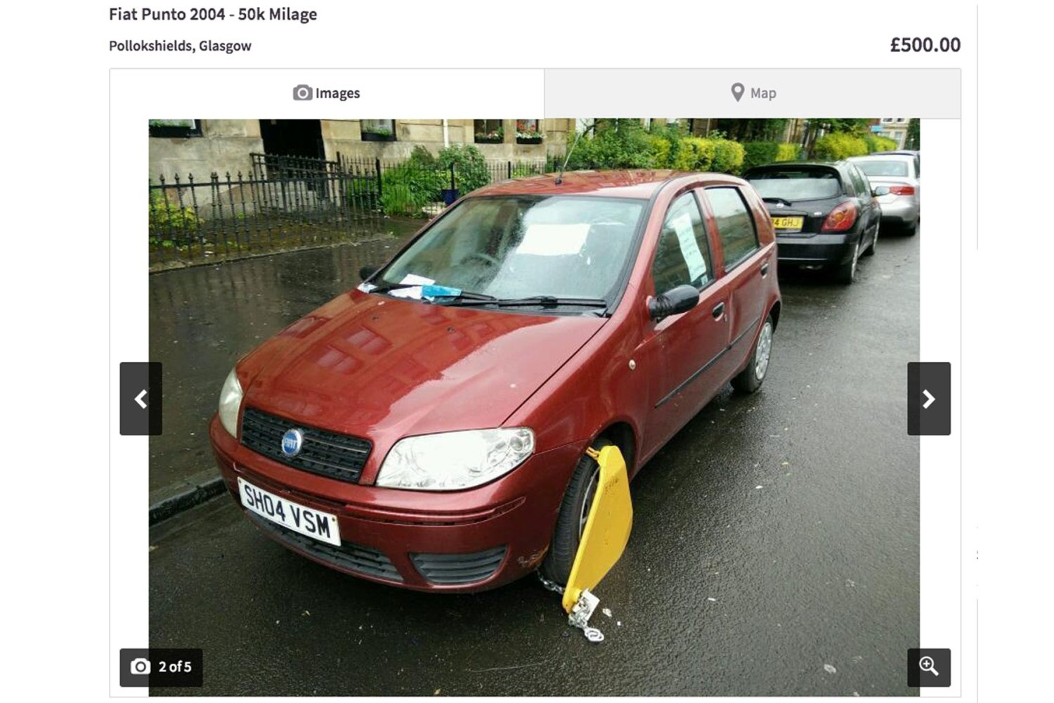 500 Fiat Punto For Sale On Gumtree But You Ll Have To Remove The
