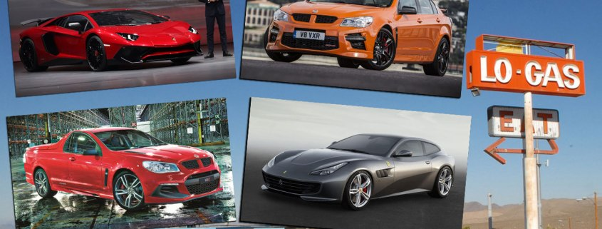 The least economical new cars on sale in 2016