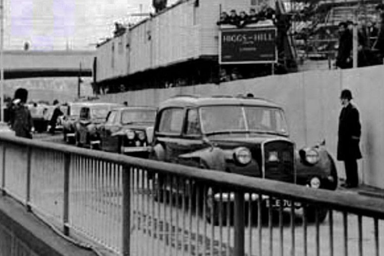 5: Winston Churchill's hearse
