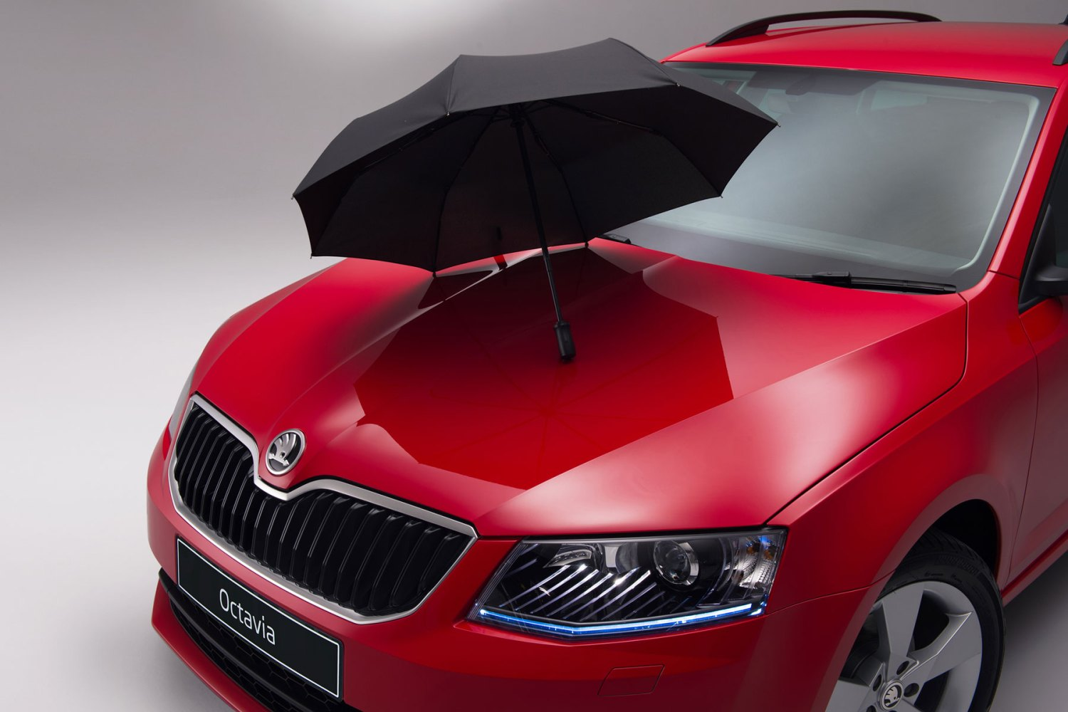 Skoda Octavia umbrella