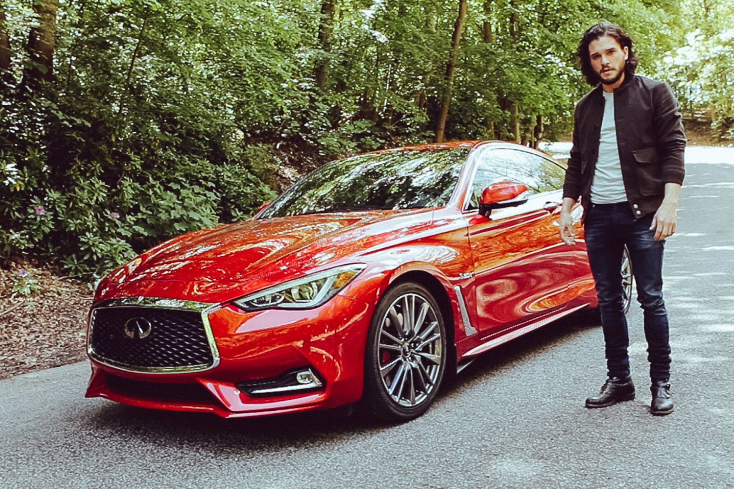 Video: Kit Harington appears in Infiniti Q60 promo clip