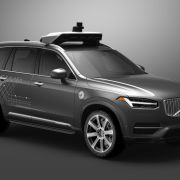 Volvo's partnered with Uber to create a driverless car