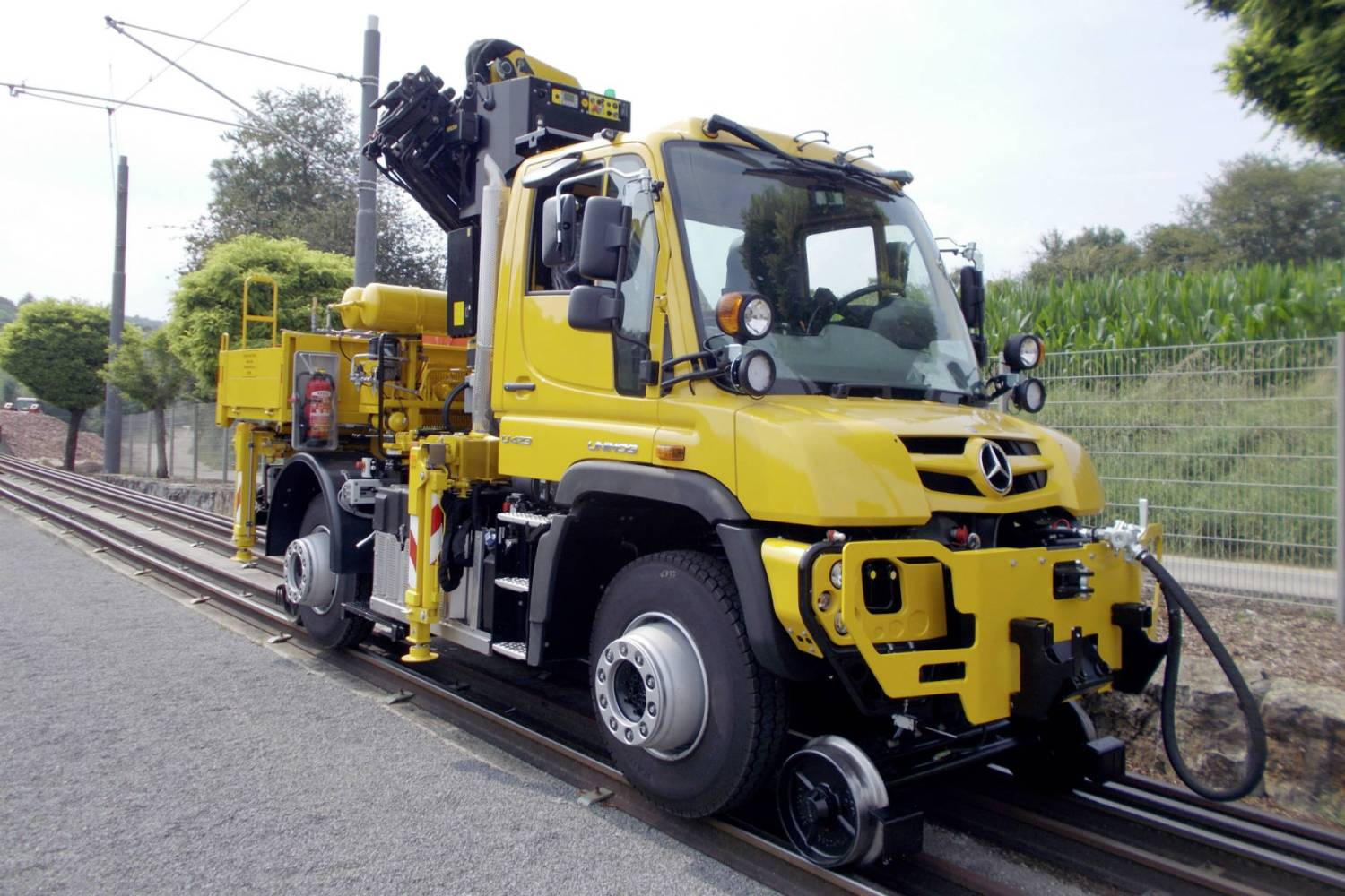 This Mercedes-Benz Unimog handles like it's on rails