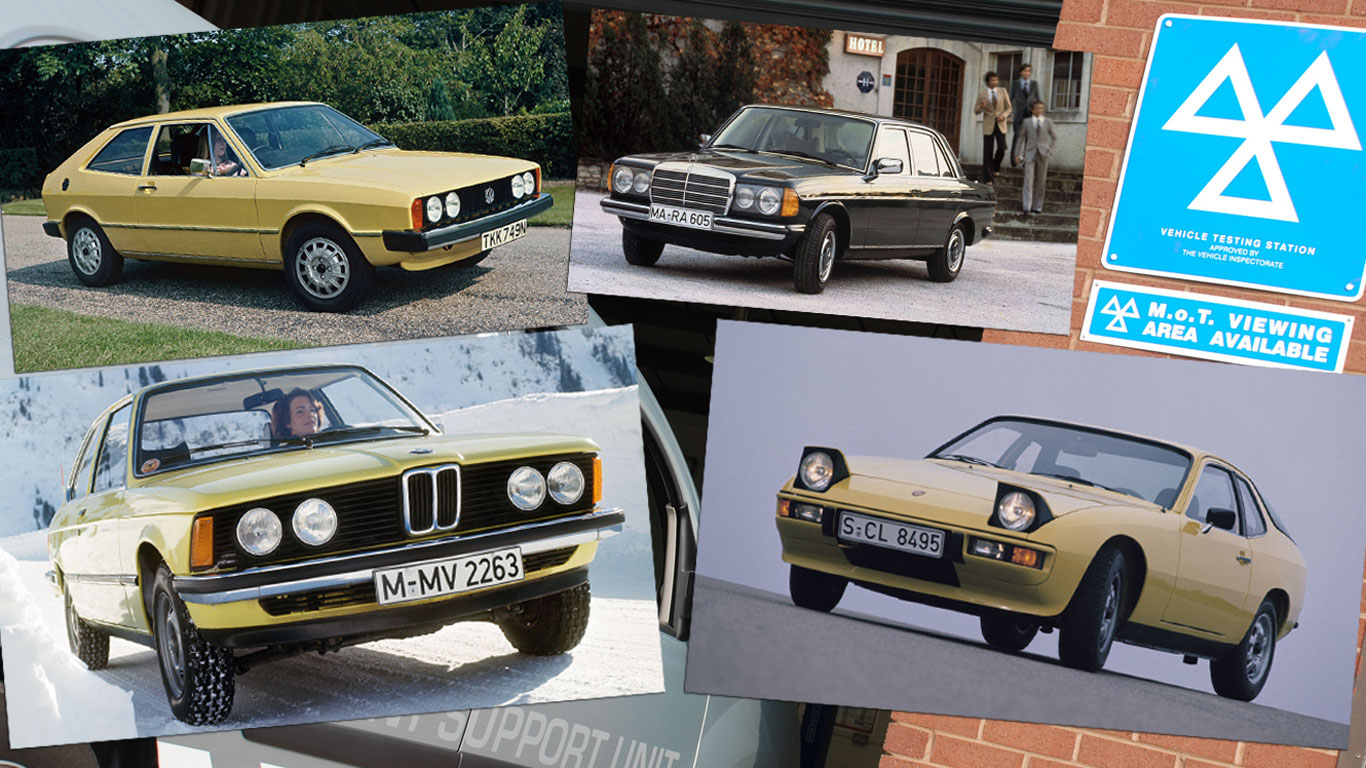 The classics that will be tax-free and MOT-free