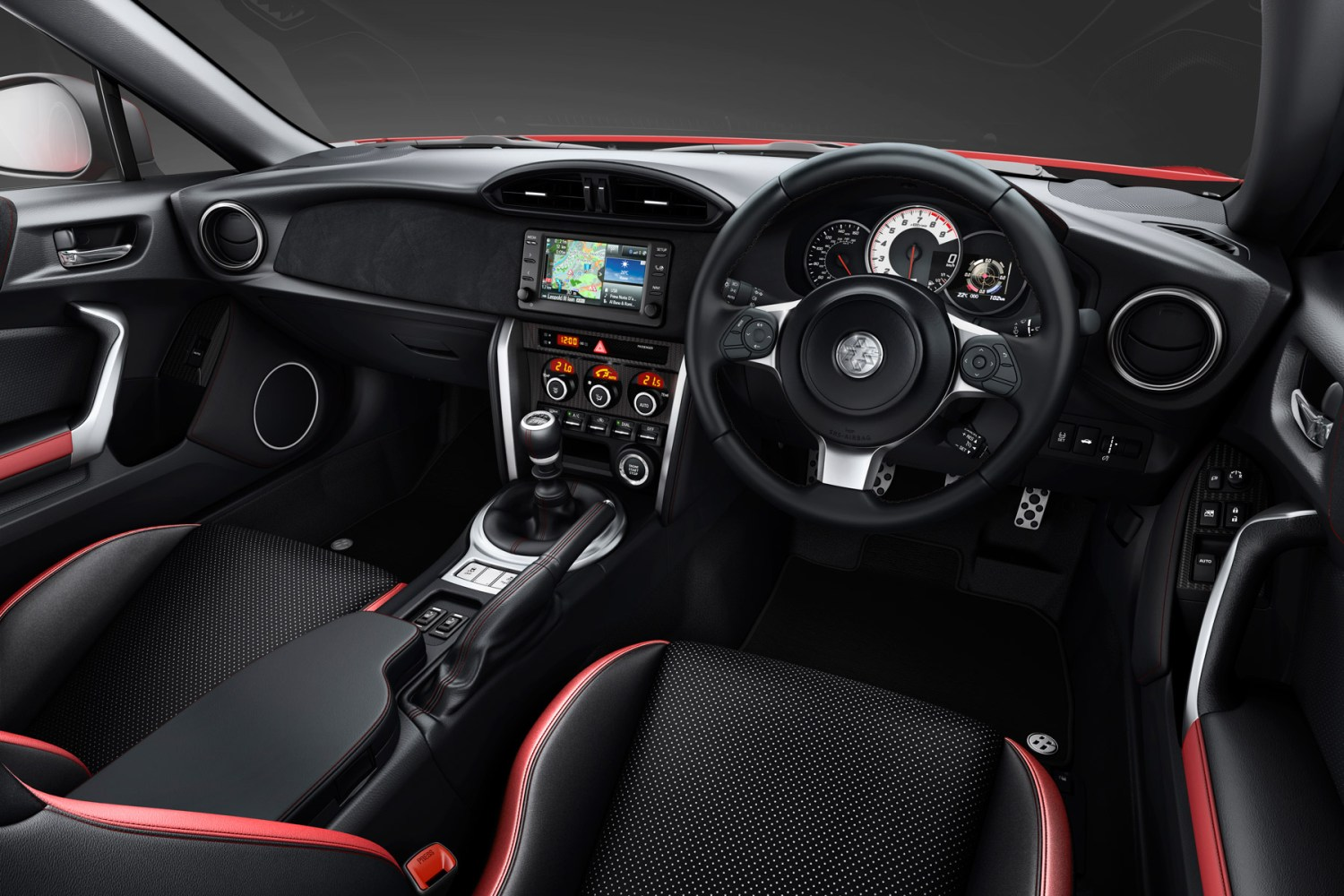 The 2017 Toyota GT86 features a track mode