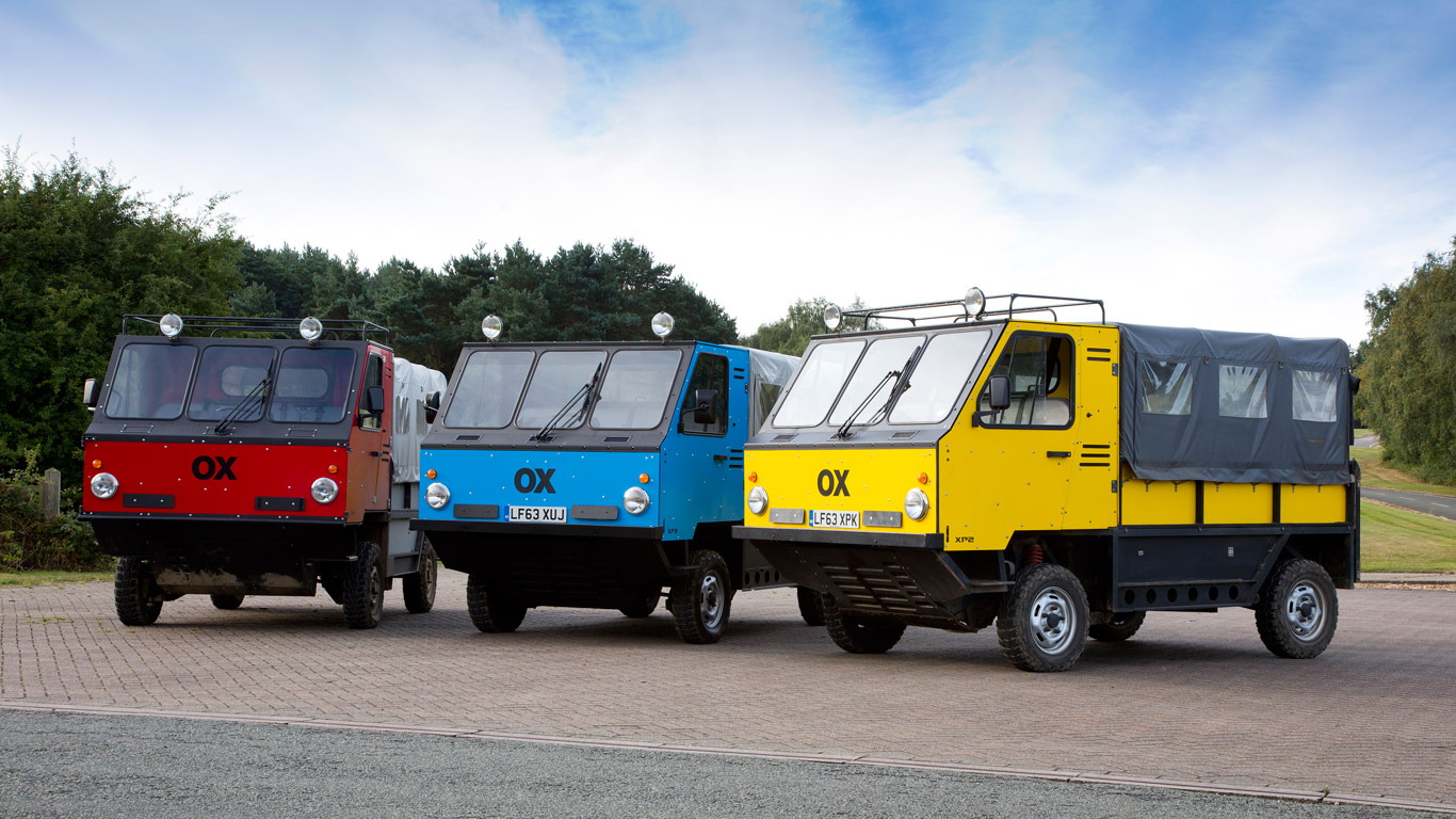 This flat-pack truck could provide aid to developing countries