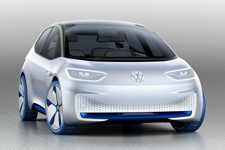 Volkswagen I D  electric concept car revealed | Motoring
