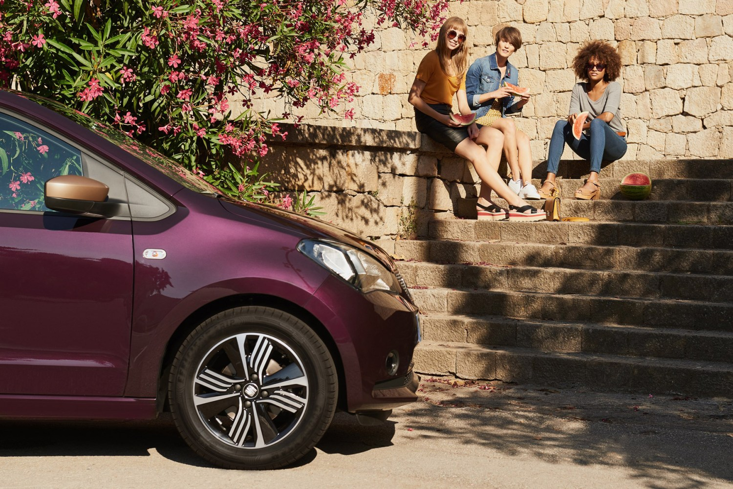 Women, know your place: the SEAT Mii by Cosmopolitan