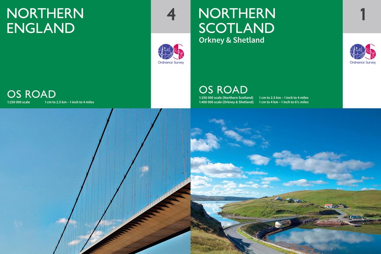 Ordnance Survey brings back road maps because people don't like sat-navs