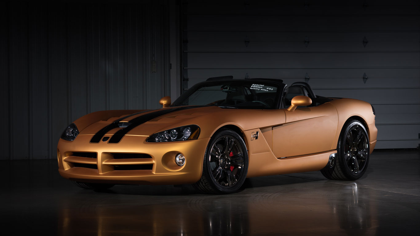 Dodge Viper SRT/10 Hurst 50th Anniversary: $220,000 (£181,000)