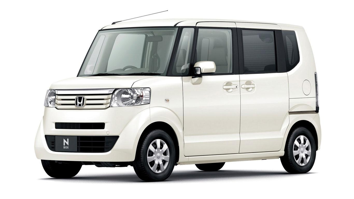 Japan: Honda N-Box (20,406 registrations)