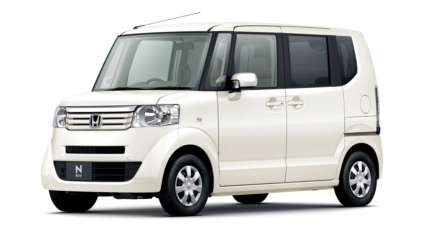 Japan: Honda N-Box (20,406 registrations)