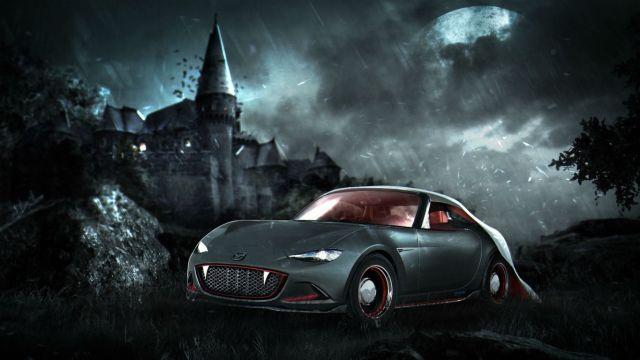 Halloween horror cars