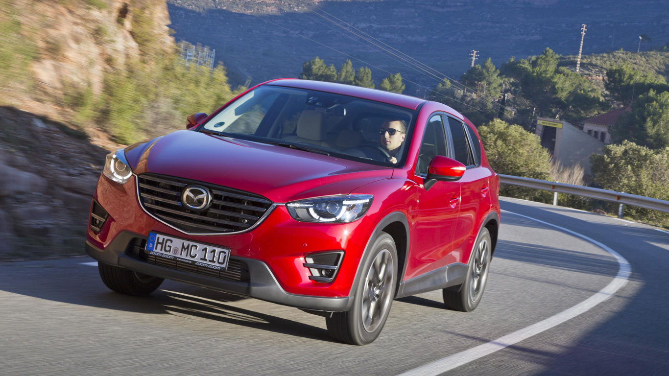 12. Mazda CX-5: 4,283 registrations